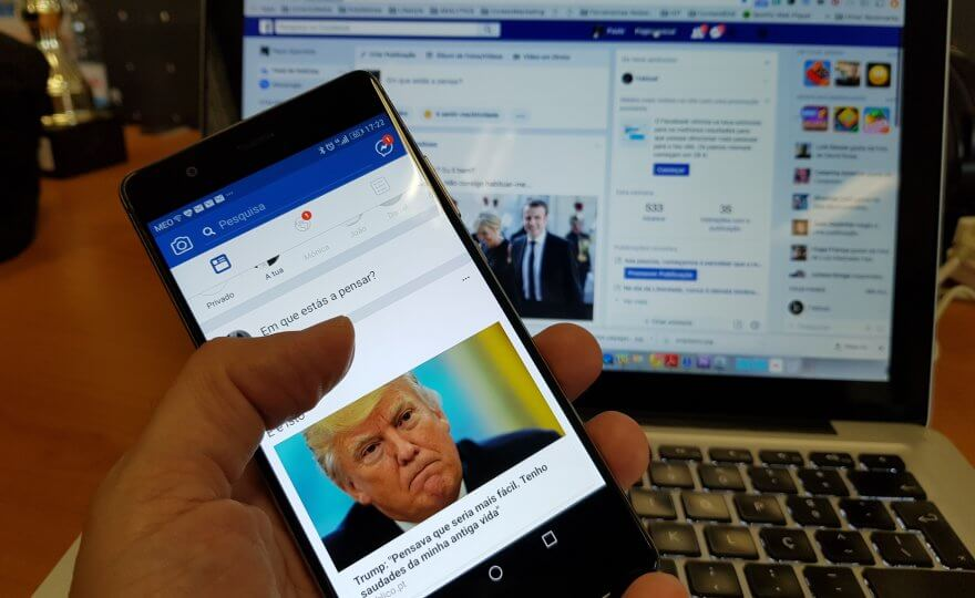 Facebook admite propaganda