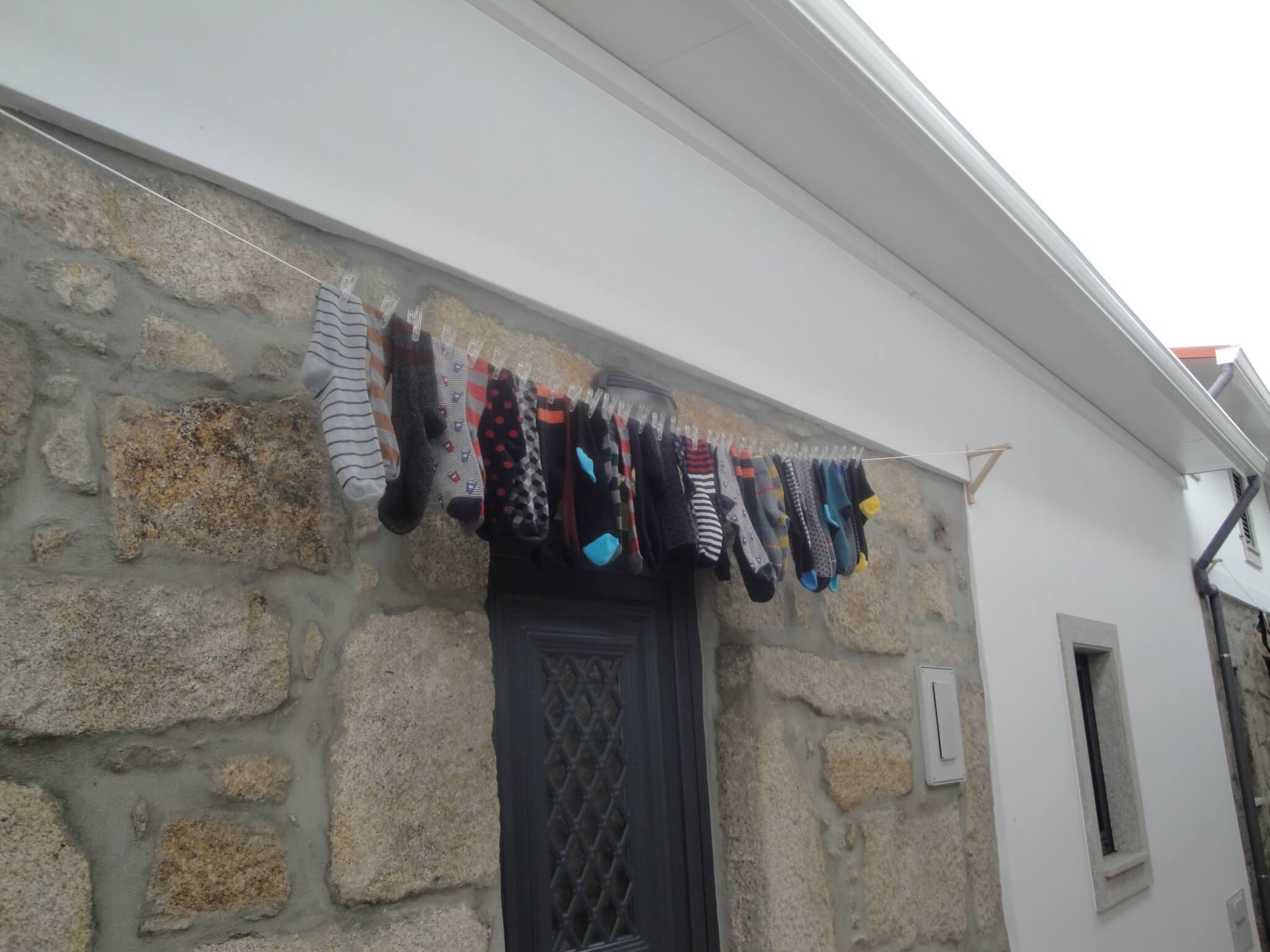 colored socks nas ilhas do Porto