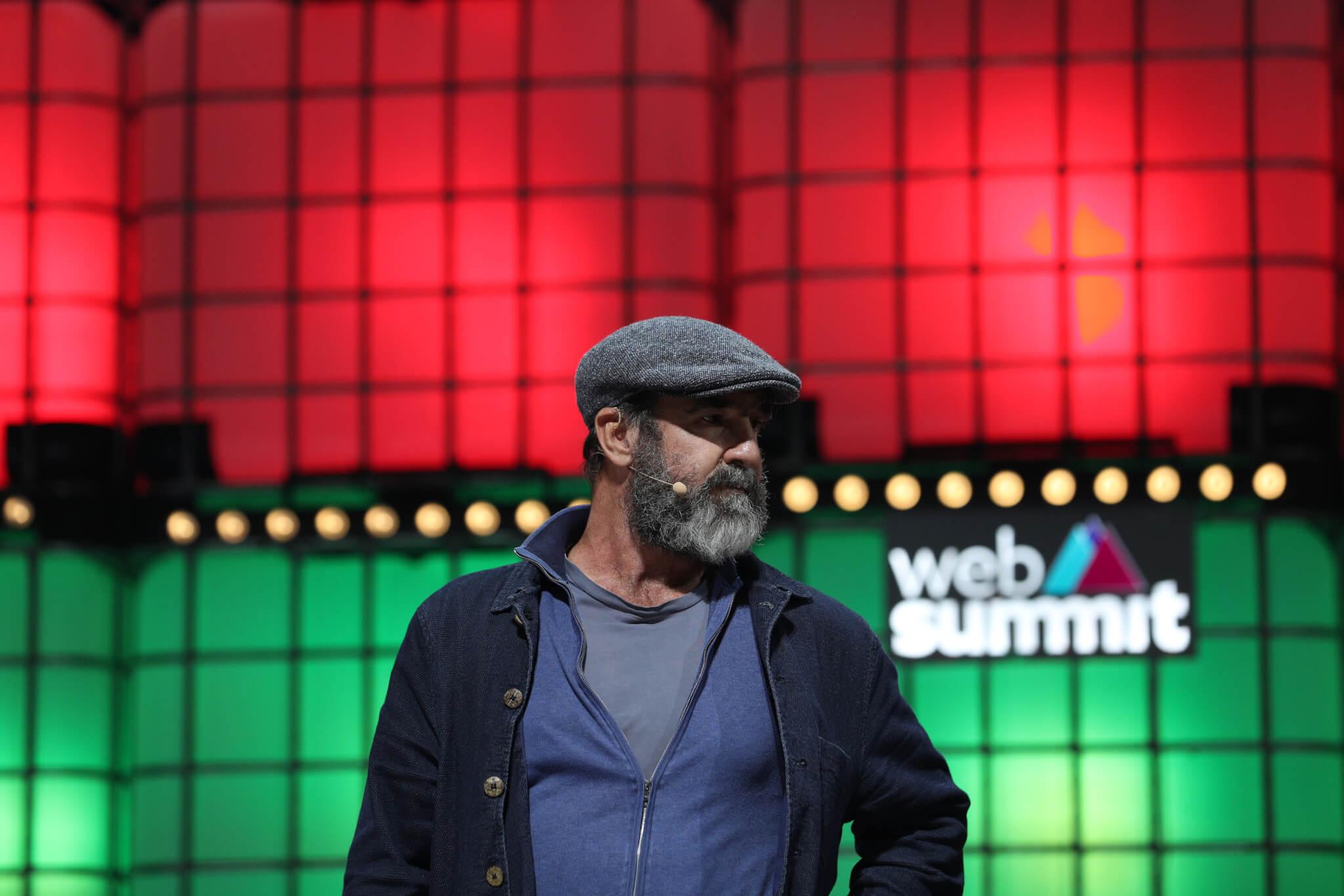 Eric Cantona na Web Summit