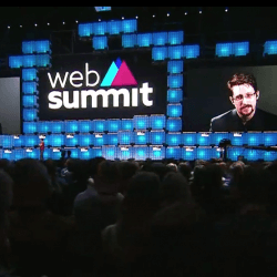Edward Snowden na Web Summit
