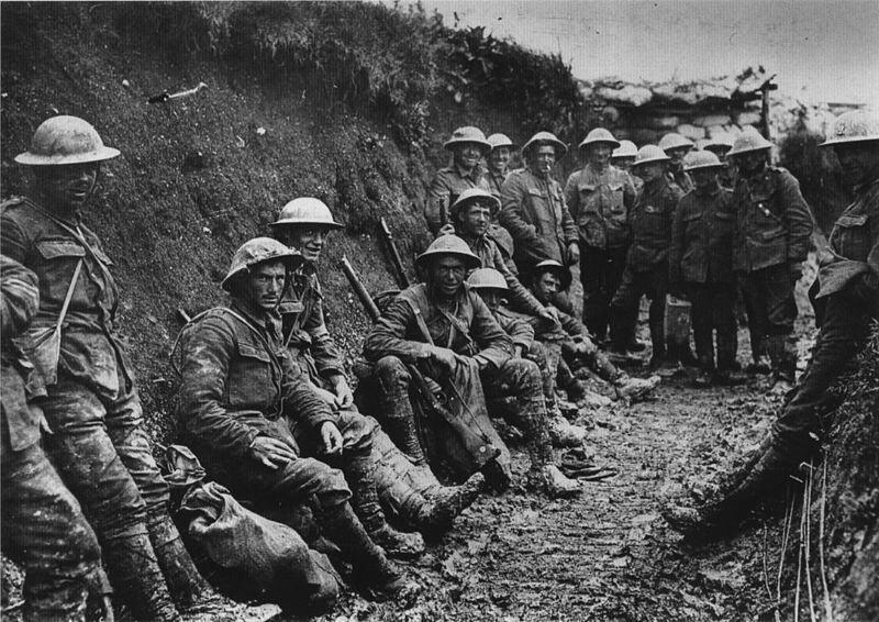 Trincheira, I Grande Guerra